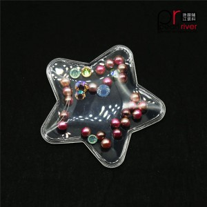 star 3D plastic PVC patch